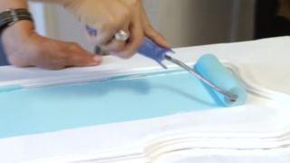 Habitación juvenil en tonos azules - Paso 4