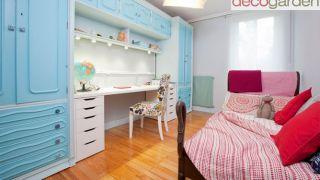 Habitación juvenil en tonos azules - Paso 8