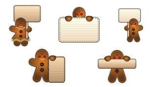 Etiquetas estilo galleta