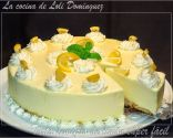 Tarta semifrío de limón