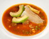 Sopa de carne, quinoa y yuca