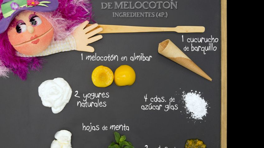 Biscuit de melocotón - Ingredientes