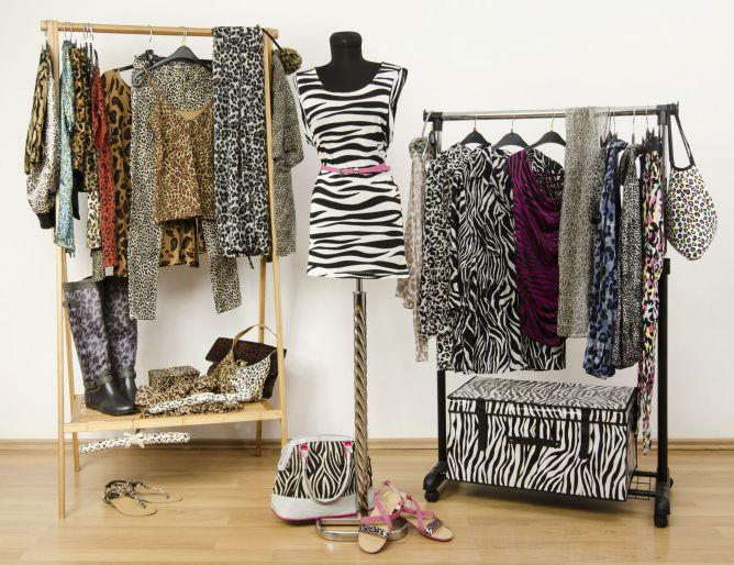 ropa animal print