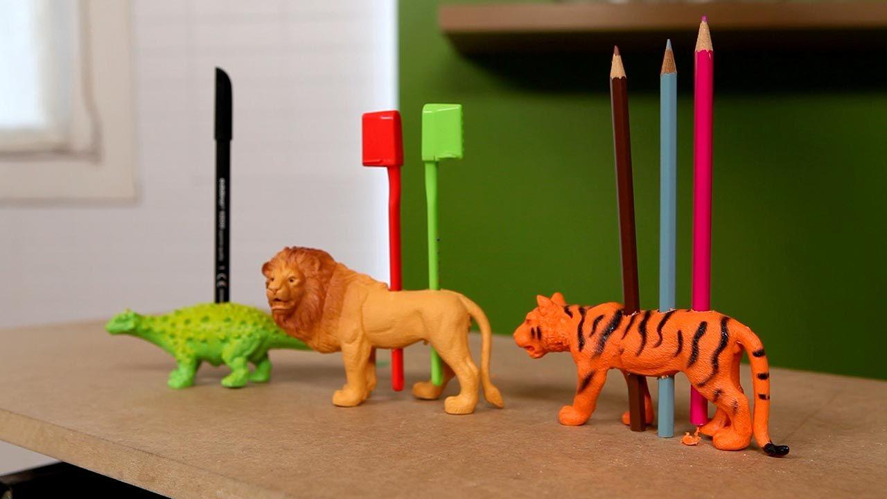 Reutilizar muñecos de plástico