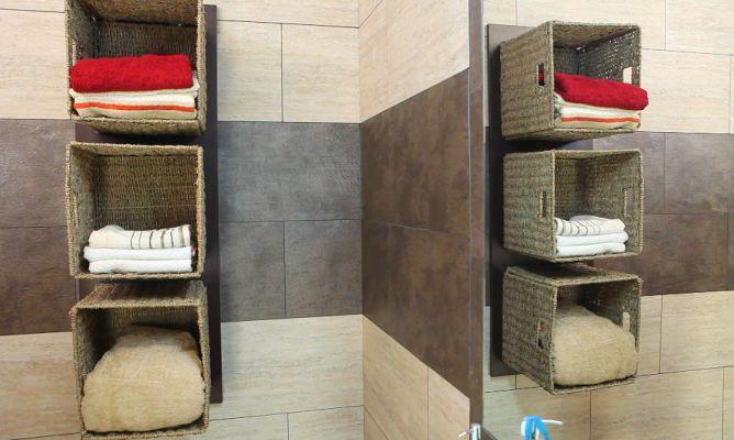 Almacenaje para toallas bricoman a for Mueble almacenaje bano
