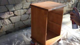 Renovar mesita de madera