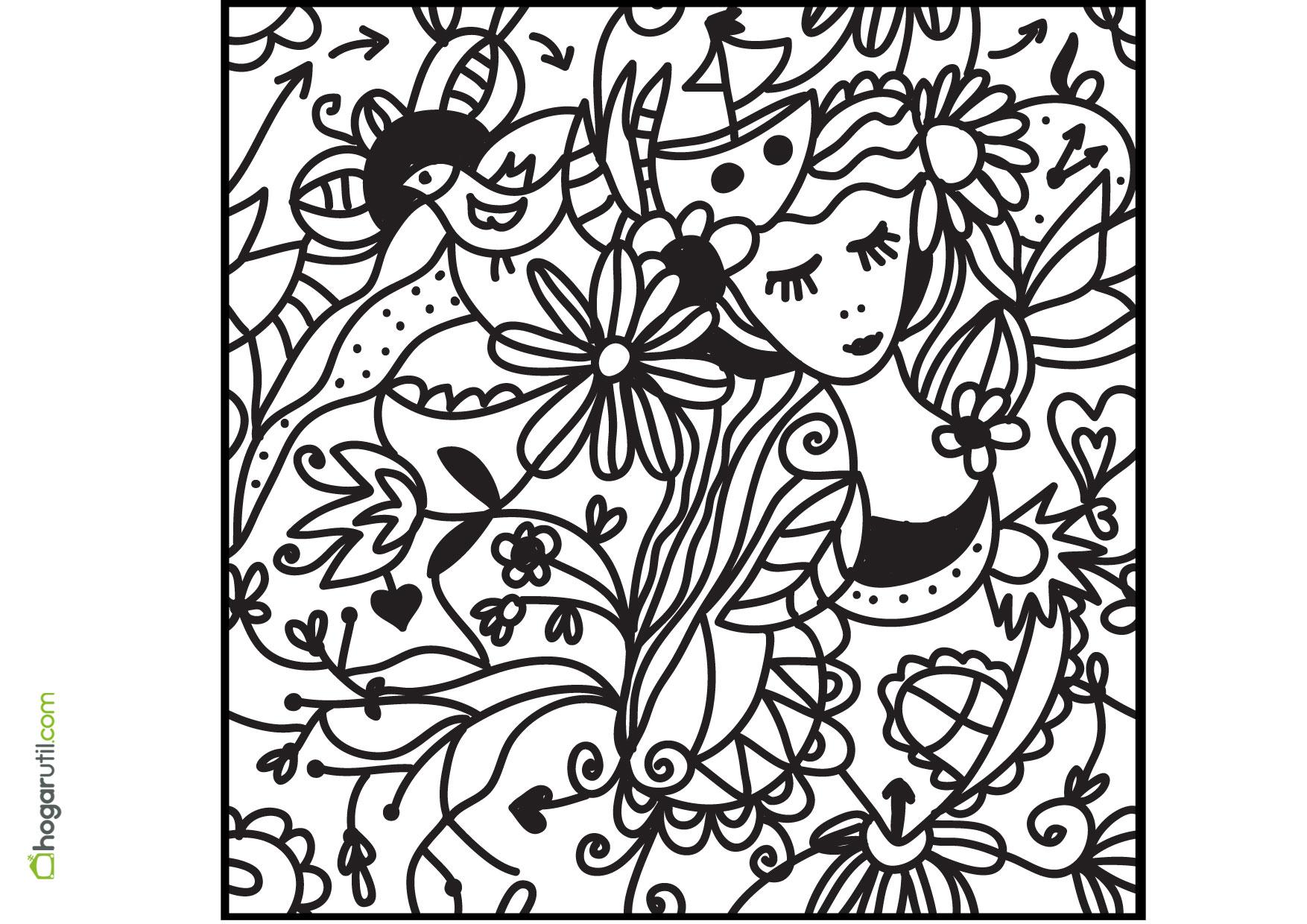 Juegos Para Colorear Gratis Para Niños: Dibujos Para Pintar Adultos