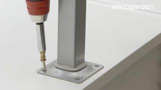 Cómo hacer una barra de cocina americana - Paso 6