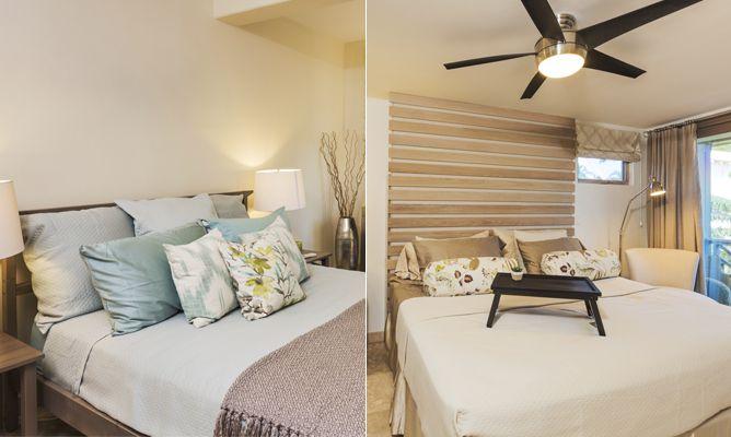 Dormitorios luminosos en colores tierra hogarmania - Colores para dormitorios ...