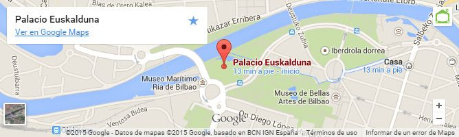 Mapa Palacio Euskalduna