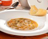 Sopa de verduras con pasta