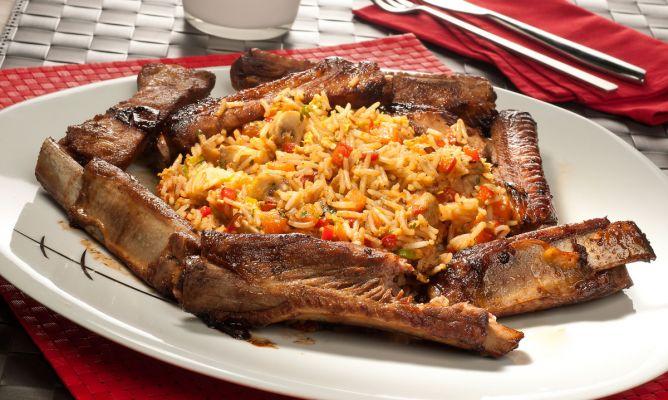 Receta de wok de arroz con costilla y verduras bruno oteiza - Arroz con verduras y costillas ...