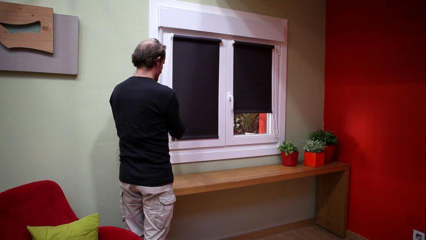 Estor para ventanas abatibles - Bricomanía
