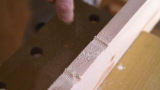 Perfilar madera con escofinas