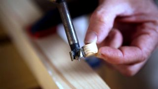 Tapones embellecedores de madera