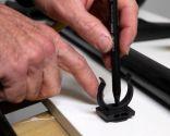 Hacer un soporte para los accesorios de la aspiradora