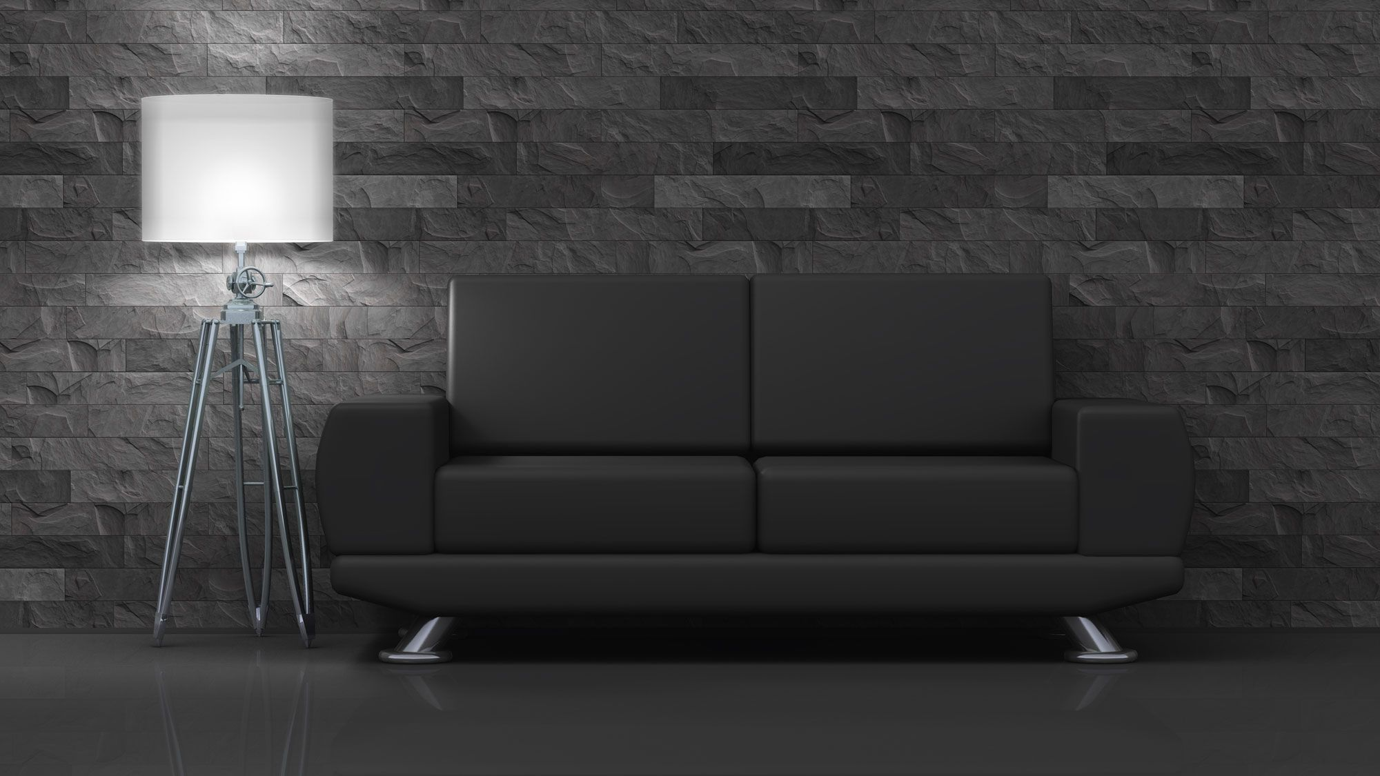 c mo combinar un sof negro hogarmania. Black Bedroom Furniture Sets. Home Design Ideas