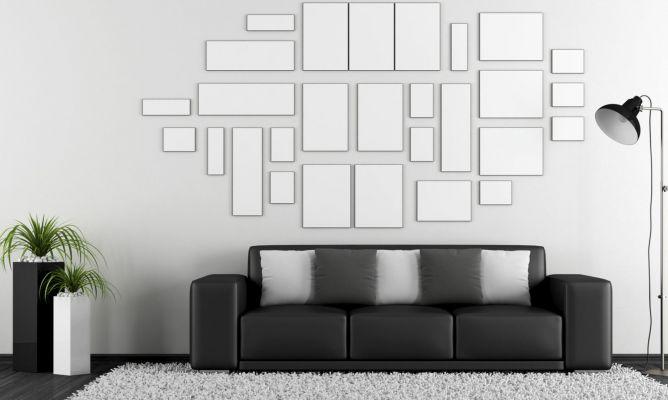 C mo combinar un sof negro hogarmania - Combinar colores para salon ...