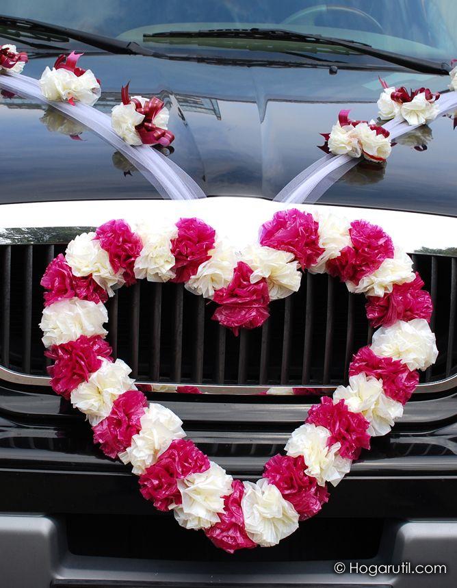 C mo decorar el coche para una boda antes de la boda - Como decorar para una boda ...