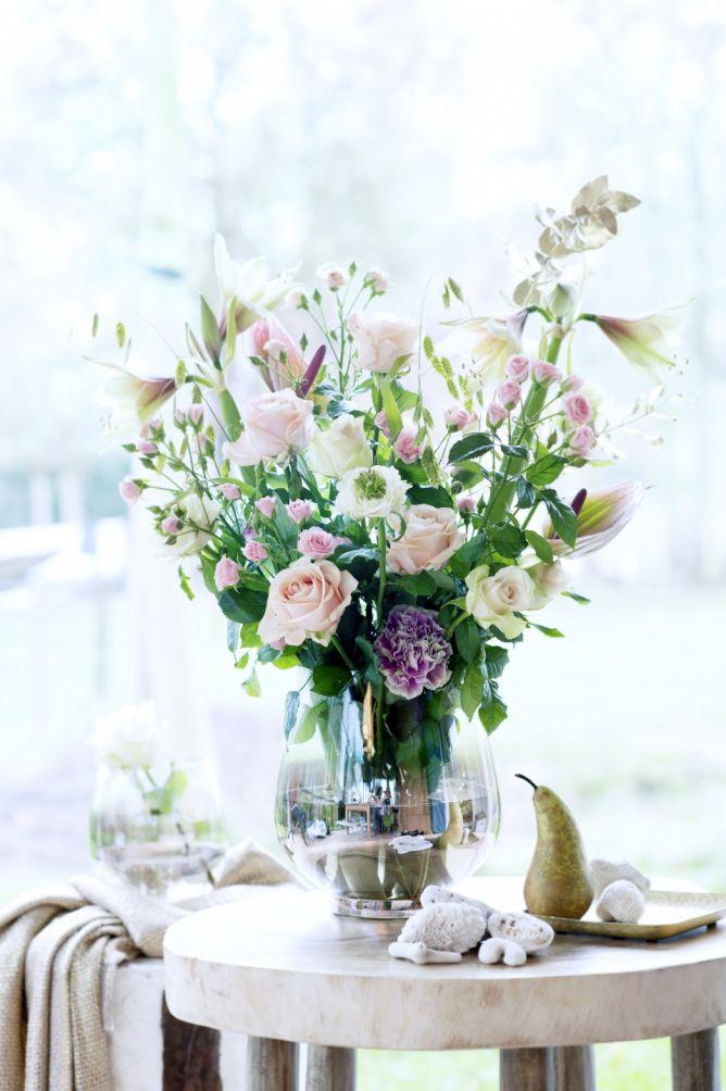 Hacer un bouquet de rosas