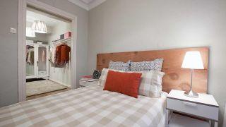 Decorar un dormitorio con vestidor - Paso 11