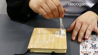 Cómo decorar una libreta o cuaderno - Paso 1