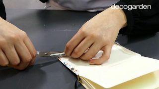 Cómo decorar una libreta o cuaderno - Paso 4