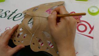 Máscara veneciana paso 2