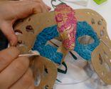 Paso 3 - Máscara de carnaval con técnica decoupage