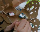 Paso 4 - Máscara carnaval con técnica decoupage