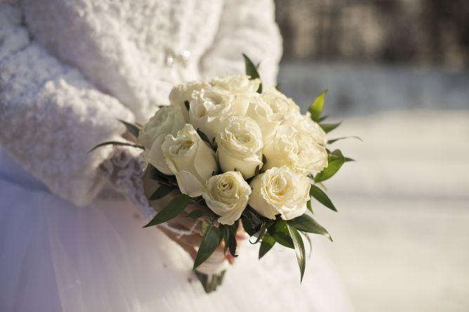 Ramos de novia en tonos blacos
