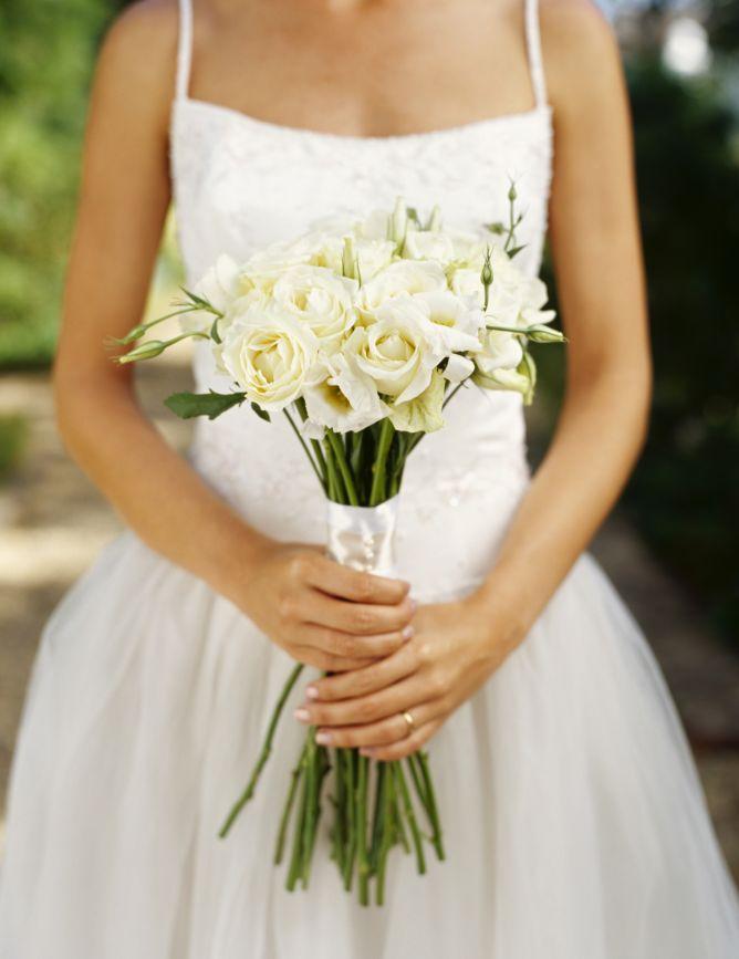 Ramos de novia en tonos blanco