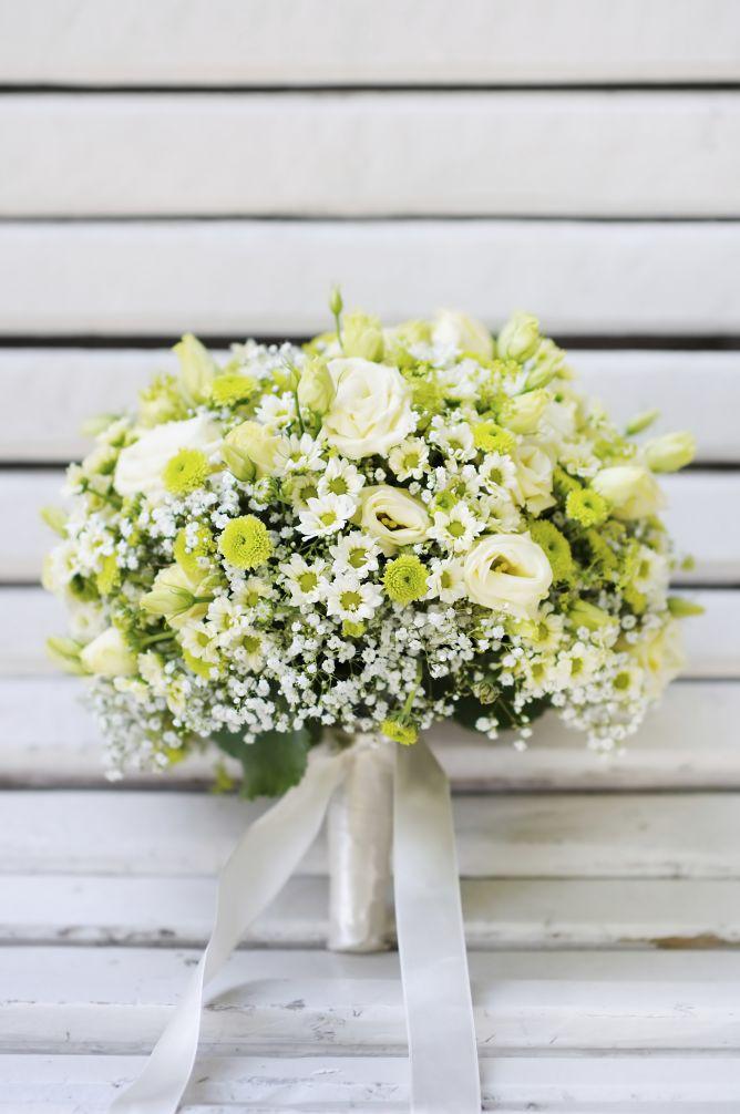 Ramo de novia en tonos blancos