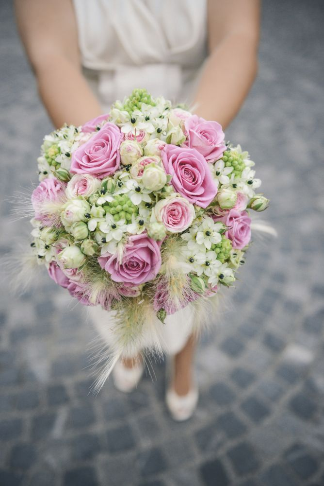 Ramos de novias con rosas