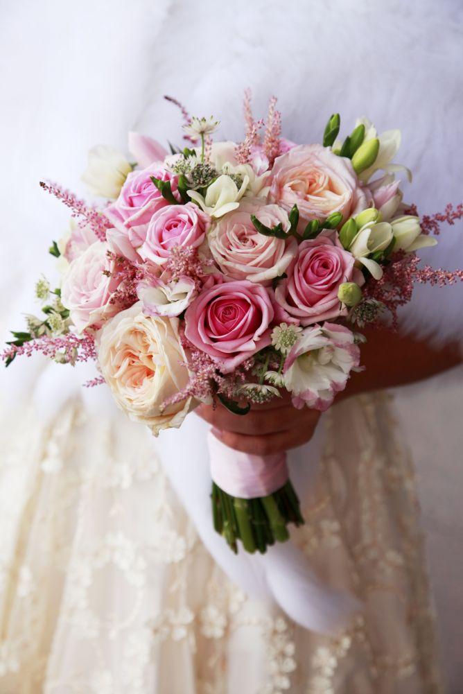 Ramos de novias con rosas hogarmania - Fotos ramos de novia ...