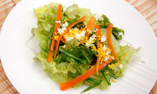 Receta de ensalada de lechuga jud as verdes y zanahoria - Ensalada de judias verdes arguinano ...