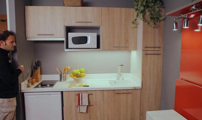 Fijar panel de led en cocina bricoman a for Muebles bricomania