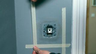 Marco protector transparente para la pared