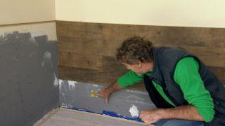 Revestimiento plástico de pared