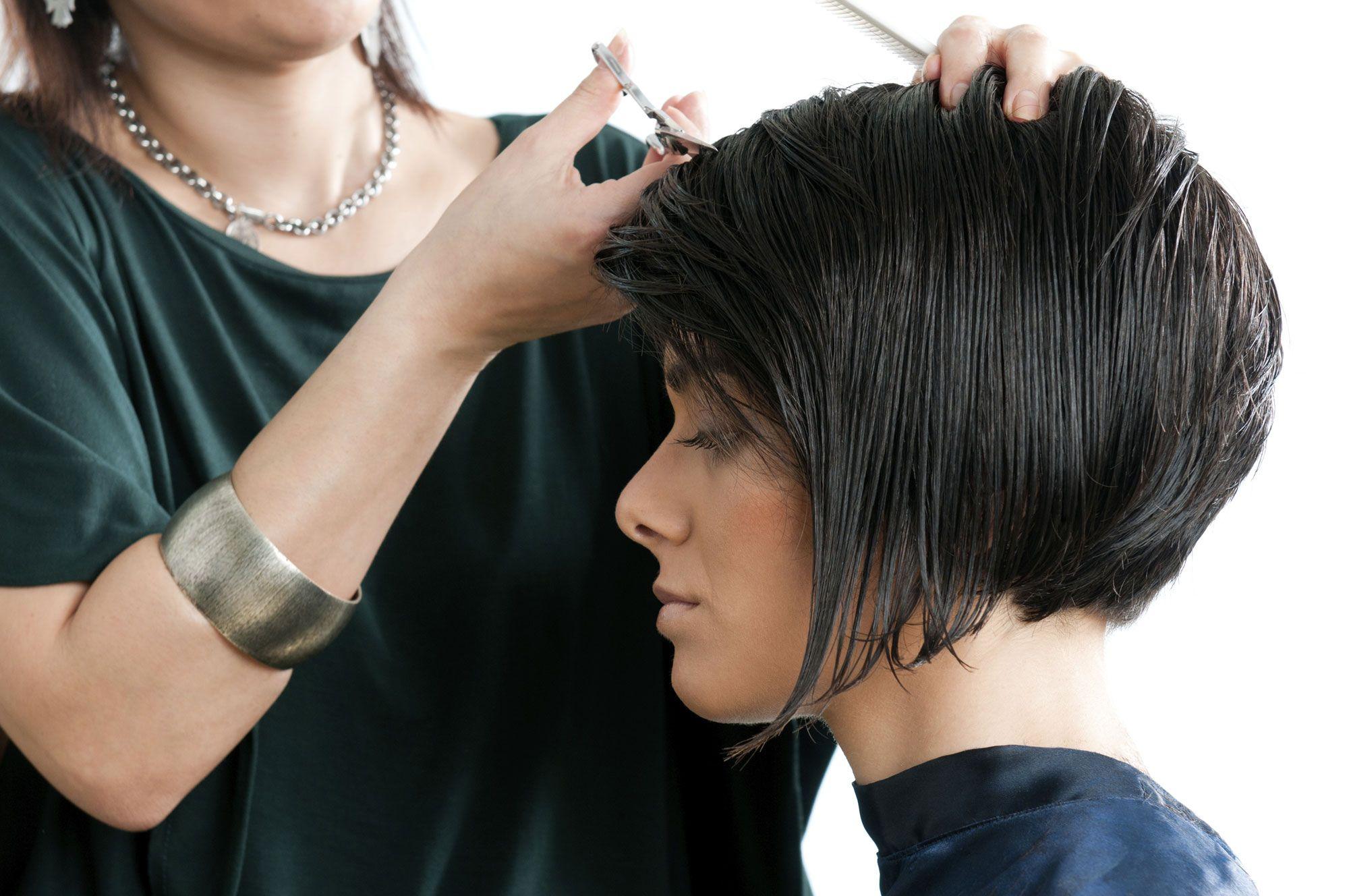 corte bob peinado