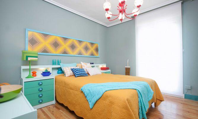 Decorar un dormitorio retro decogarden - Dormitorio retro ...