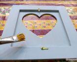 decorar portafotos vintage decoupage - paso 8