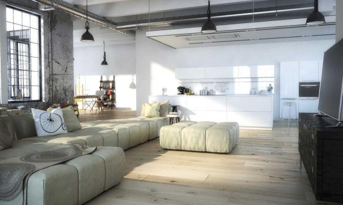 La tendencia del loft en decoraci n hogarmania for Decoracion estilo loft