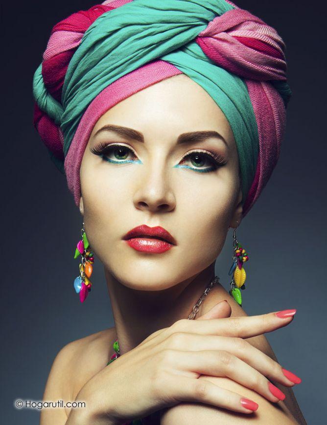 turbantes para el pelo