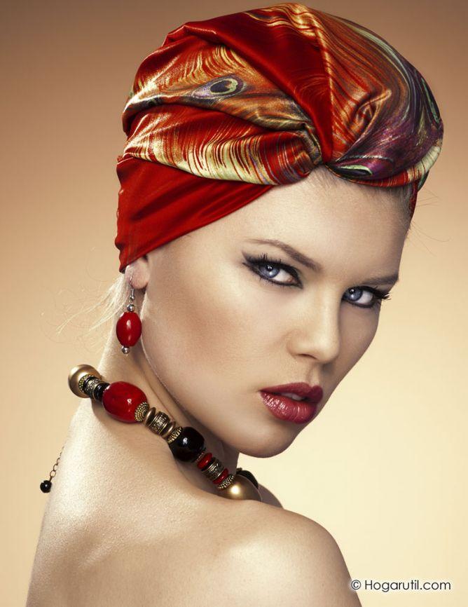 moda turbantes pelo