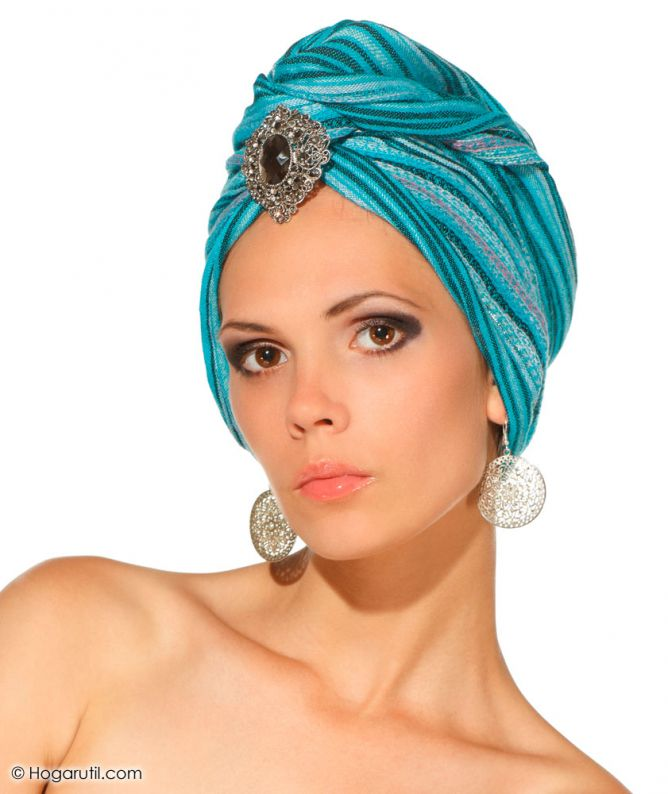 turbantes de pelo