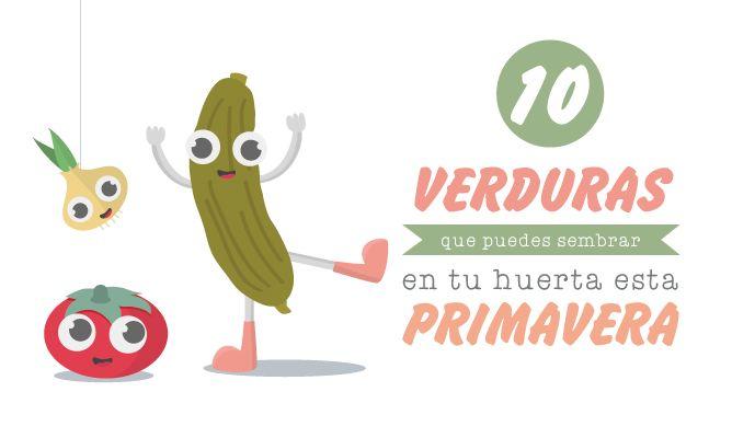10 verduras que puedes sembrar en tu huerta esta primavera - Hogarmania
