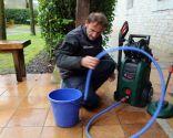 Uso de limpiadoras de alta presión