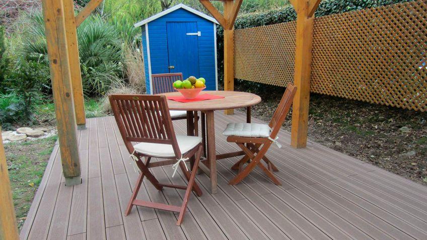 Suelos madera jardin elegant suelos de madera y otros - Suelo de madera para jardin ...