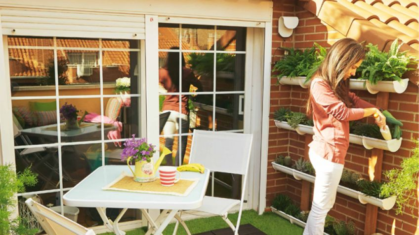 Decorar Una Terraza De 8m2 Hogarmania - Terraza-decoracion